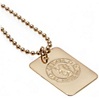 more details on Gold Plated Chelsea Dog Tag & Ball Chain.