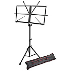 more details on Windsor Sheet Music Stand with Bag - Black.