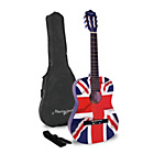 more details on Martin Smith Half Size Union Jack Classical Guitar.