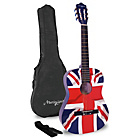 more details on Martin Smith 3/4 36 Inch Union Jack Classical Guitar.
