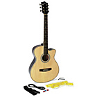 more details on Martin Smith Natural Electro Acoustic Guitar.