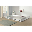 more details on HOME Stakka II Guestbed and mattresses - White.