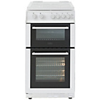 more details on Belling FS50GTCL Gas Cooker - White.