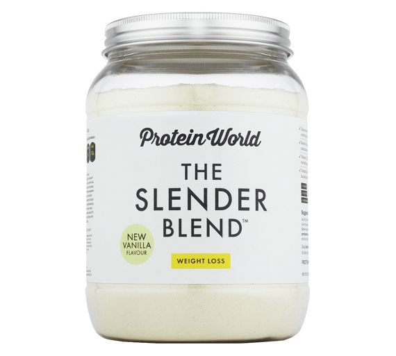 Buy Protein World Slender Blend 600g Vanilla At