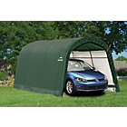 more details on Shelter Logic Round Top Auto Shelter - 10 x 15ft.
