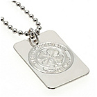 more details on Silver Plated Celtic FC Dog Tag & Ball Chain.