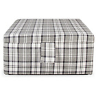 more details on Square Lewis Ottoman Coffee Table - Granite.