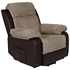 more details on Collection Bradley Riser Recline Fabric Chair - Natural.