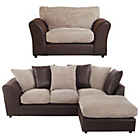 more details on HOME New Bailey Large Right Corner Sofa/Snuggler Chair -Nat