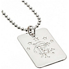 more details on Silver Plated Rangers Dog Tag & Ball Chain.