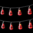 more details on The Christmas Workshop 10 LED Santa String Lights - White.