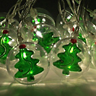 more details on The Christmas 10 LED Xmas Bauble String Lights.