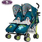 Disney Monsters Inc. Twin Stroller with Footmuffs