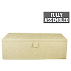 more details on Linoso Extra Large Buttoned Ottoman - Natural.