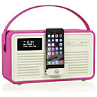 more details on VQ Retro Bluetooth DAB Radio - Pink.