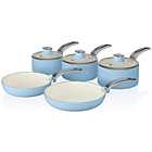 more details on Swan 5 Piece Pan Set - Blue.