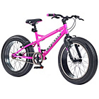 more details on Coyote Fatman 14 Inch All Terrain Bike - Neon Pink