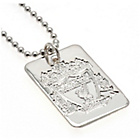 more details on Silver Plated Liverpool Dog Tag & Ball Chain.