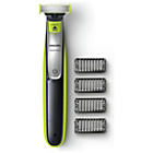more details on Philips QP2530 Wet and Dry Oneblade Trim, Edge and Shave.