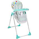 more details on Badabulle Easy High Chair - BLue/Grey.