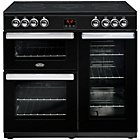 more details on Belling Cookcentre 90E Electric Range Cooker - Black.