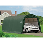 more details on Shelter Logic Round Top Auto Shelter - 10 x 20ft.
