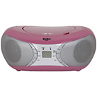 more details on Bush Bluetooth Boombox - Pink.