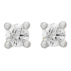 more details on Simply Beautiful 9ct White Gold 10pt Diamond Earring.