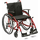 more details on Spirit Self Propelled Wheelchair - Red.