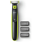 more details on Philips QP2520 Wet and Dry Oneblade Trim, Edge and Shave.