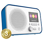 more details on Pure Elan 3 Colour Screen DAB Radio - Blue.