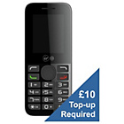 more details on Virgin VM595 Mobile Phone - Black.