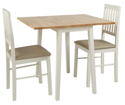 Buy Home Kendall Drop Leaf Table And 2 Dining Chairs Two