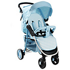 more details on My Babiie MB30 Baby Blue Stripe Pushchair.