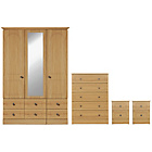 more details on Collection Stratford 4 Piece Package - Oak Effect.