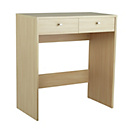 more details on HOME New Malibu 2 Drawer Dressing Table - Beech Effect.
