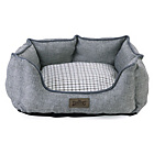 more details on Kingpets Hemp Oval Small Bed - Blue.