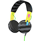Skullcandy Grind Headphones with Taptech - Yellow/Black