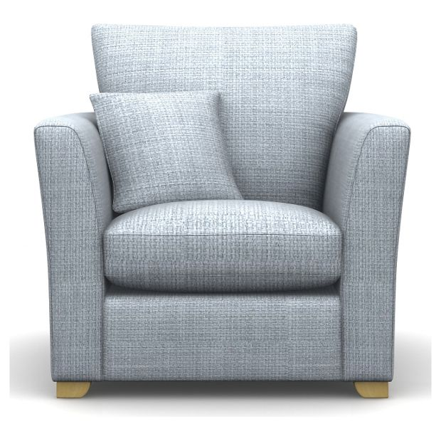 Buy Libby Fabric Chair - Duck Egg at Argos.co.uk - Your Online Shop for null.