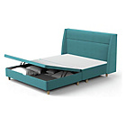 more details on Studio by Silentnight Geo Double Ottoman Bed Frame - Teal.