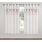 Imogen Thermal Lined Eyelet Curtains 167x182cm-Multicoloured