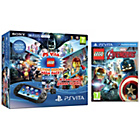 more details on PS Vita and 4 LEGO Game Bundle.