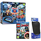 more details on PS Vita, 4 LEGO Games and Black Case Bundle.