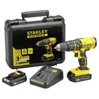 Stanley Fatmax 1.3Ah Cordless Hammer Drill with 18V 2 Batteries