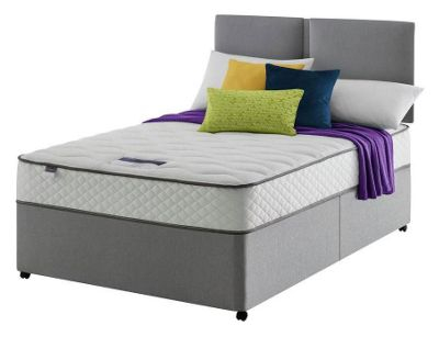 Buy Silentnight Miracoil Travis Cushiontop Kingsize 2 Drw Divan At Your Online