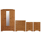 more details on HOME Nordic 4 Piece Package - Pine.