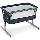 more details on Chicco Next 2 Me Sleeping Crib - Denim.