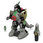 more details on Fisher-Price Imaginext Power Rangers Green Ranger Dragonzord
