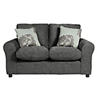 more details on HOME Tessa Compact Fabric Sofa - Charcoal.