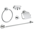 more details on Grohe Essentials 5 Piece Accessory Set.